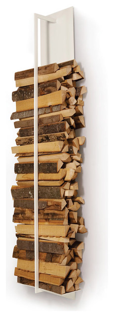 Tape Firewood Shelf contemporary fireplace accessories