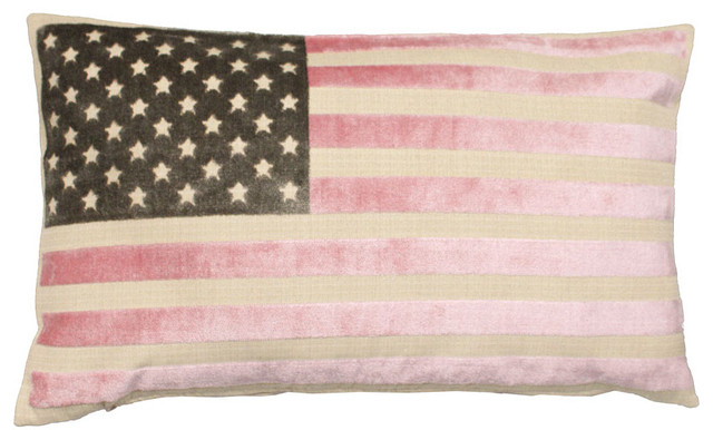 American Flag Pillow eclectic-decorative-pillows