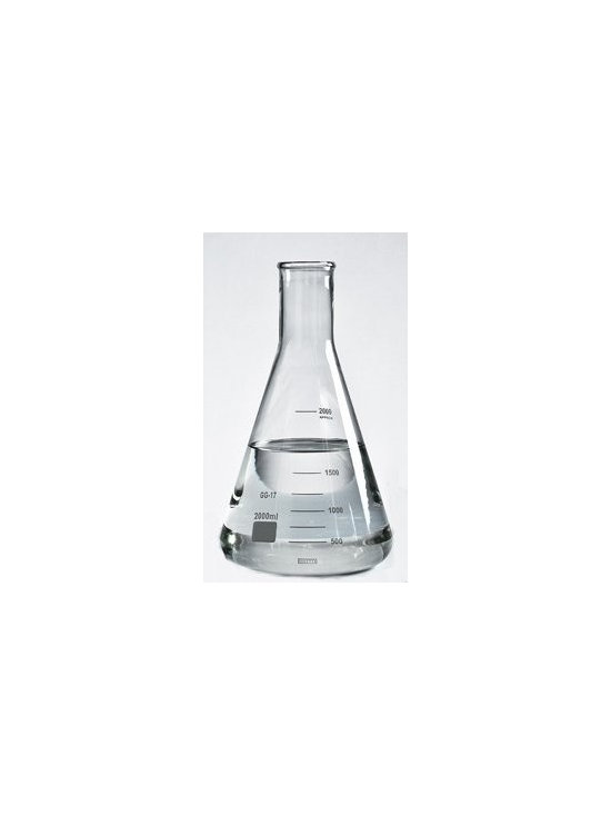 Erlenmeyer Flask Lab Wine Decanter with Rubber Stop, 68 Ounce - The hip trend in barware.