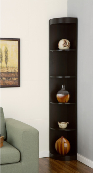 Corner 5-shelf Display Stand - Modern - Display And Wall Shelves - by ...