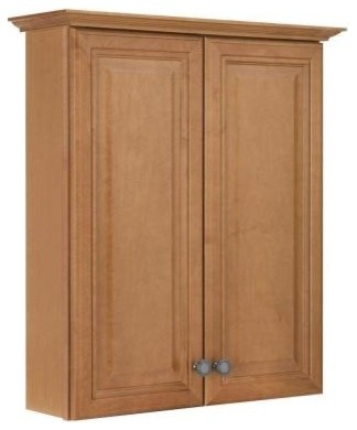 American Classics Cambria 25-1/2 in. Maple Bath Storage Cabinet in Harvest TTCY- contemporary-bathroom-vanities-and-sink-consoles
