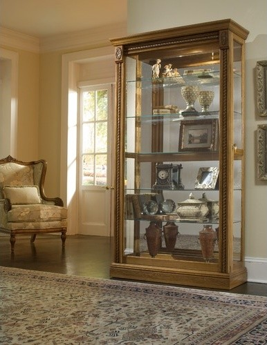 Keepsakes Curio Cabinet - Modern - China Cabinets And Hutches - by Wayfair
