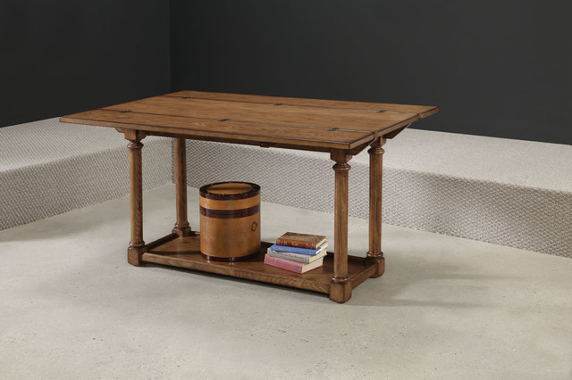 American Drew 114 925 Americana Home Flip Top Console Kd Traditional Coffee Tables Atlanta