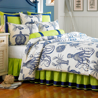 Oceana Bedding Collection - Tropical - Bedding - boston - by Mystic Valley Traders