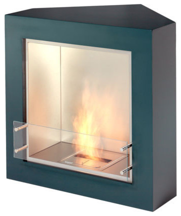 Trio Modern Ventless Designer Fireplace Modern Indoor