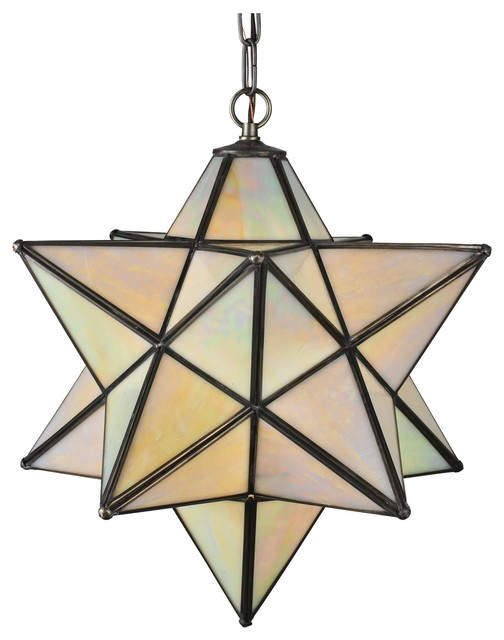 tiffany moravian star outdoor pendant light contemporary outdoor. Black Bedroom Furniture Sets. Home Design Ideas