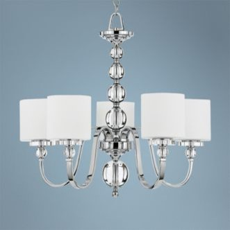 Downtown Collection 5 Light Chandelier modern chandeliers