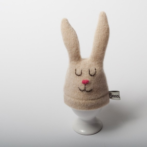 Betty Bunny Egg Cozy by Sara Carr eclectic serveware