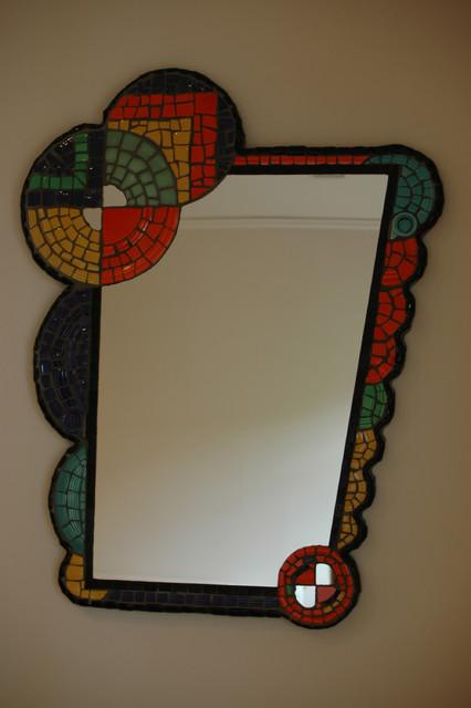 Mosaic Mirror Modern Wall Mirrors Portland By Lynn