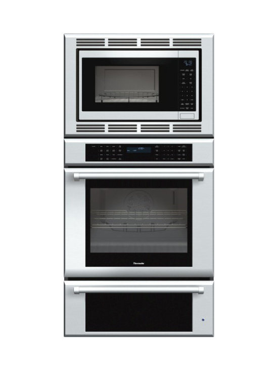 """Thermador Masterpiece 30"""" Triple Combination Wall Oven, Stainless 
