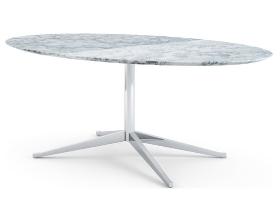 Florence Knoll Table Desk - Oval -