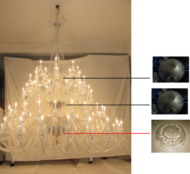 88 Light Custom made Chandelier contemporary-chandeliers