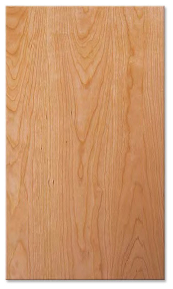 Cherry Plank/Slab Cabinet Doors Unfinished - Traditional - Kitchen Cabinetry - by CabinetNow