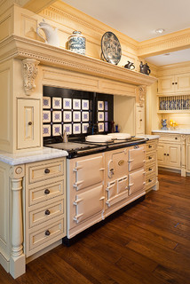 kitchen remodeling often includes a high-end stove