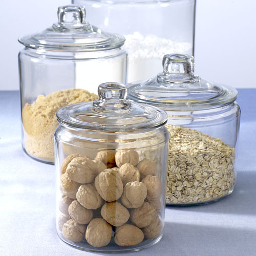 Apothecary Jars traditional food containers and storage