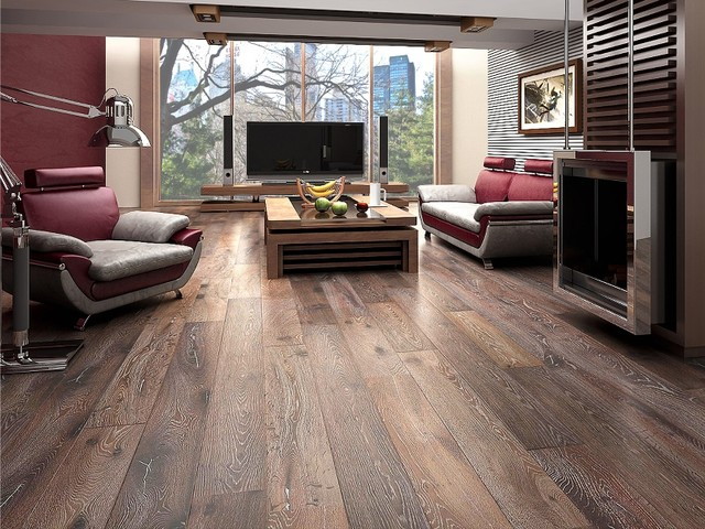 Kingsbridge Oak contemporary wood flooring