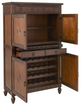 Keraton Wine Cabinet traditional-storage-units-and-cabinets