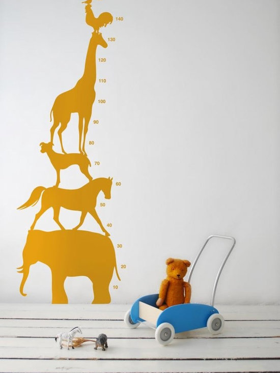 Ferm Living Animal Tower WallSticker - Ferm Living Animal Tower WallSticker