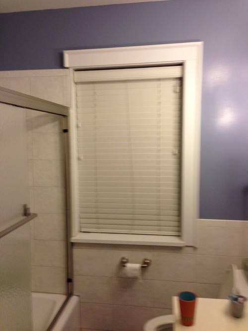Bathroom window encroaching in tub space - remodeling ...