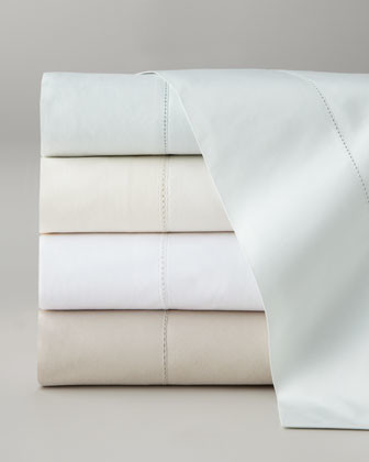 Pine Cone Hill Queen Classic Hemstitch Sheet Set traditional-sheets
