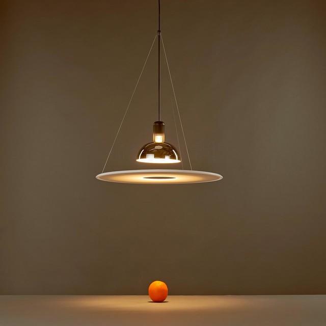 flos frisbi lamp by achille castiglioni modern pendant lighting san francisco by. Black Bedroom Furniture Sets. Home Design Ideas