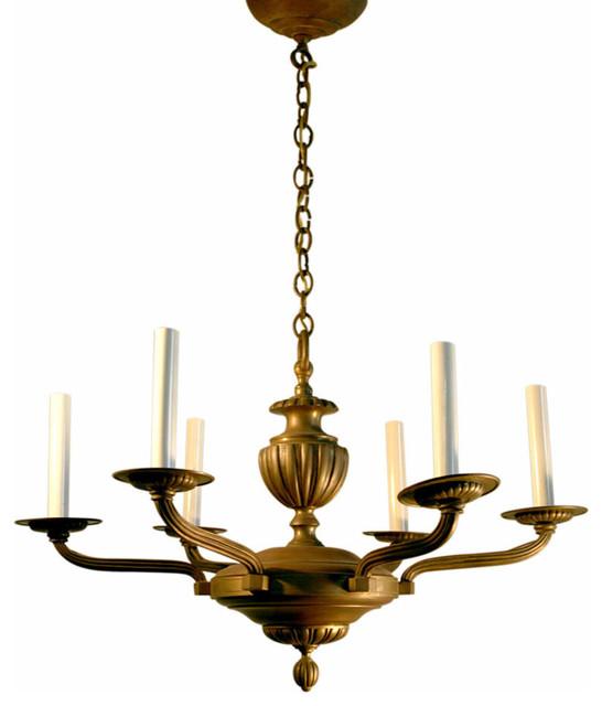 Mediterranean Style Lighting: Chandelier Bronze Rhulmann Style