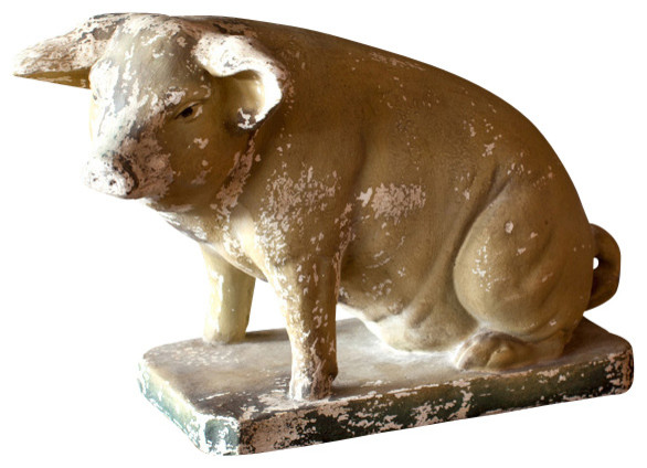 Decorative Pig Traditional Home Decor By Bobo
