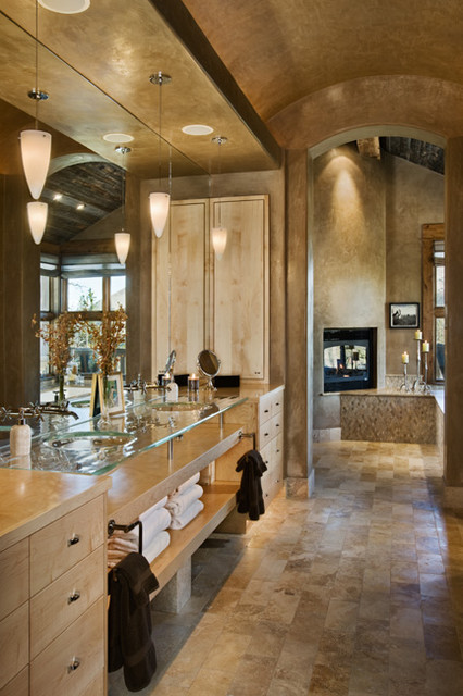 Andesite Residence contemporary-bathroom
