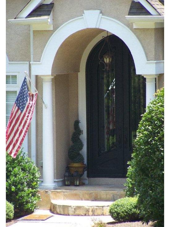 "Wrought Iron Doors - A Signature Entry ""Beautiful Tribute"" ... A Patriotic Door"