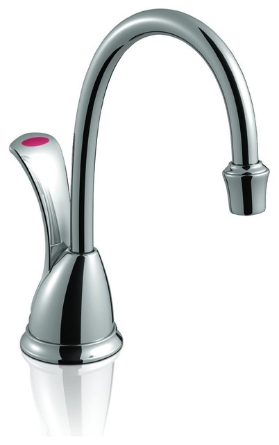 InSinkErator H-WAVEC-SS Hot Only Instant Hot Water Dispenser in Chrome traditional-kitchen-faucets