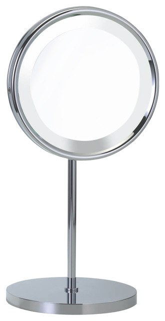 Smile 313 Magnifying Illuminated Mirror contemporary-makeup-mirrors