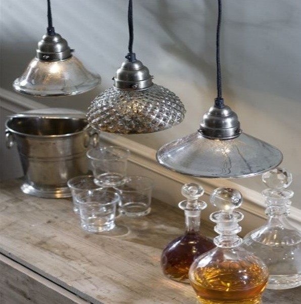 Mercury Light Pendants eclectic-pendant-lighting