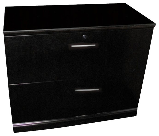 ... Drawer Lateral File in Espresso transitional-filing-cabinets-and-carts