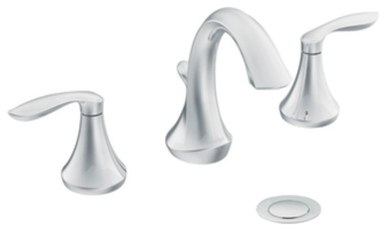 MOEN T6420 Eva Widespread Bathroom Trim Kit bathroom-faucets-and-showerheads