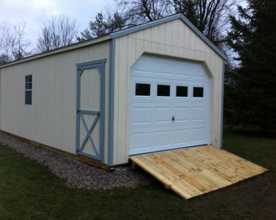 Garden Sheds - 12' X 24' Portable Garage Shelter by North Country Sheds