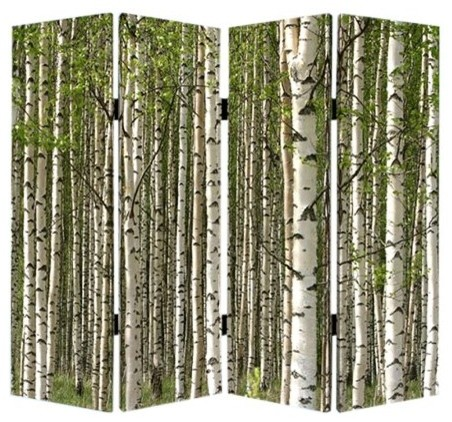Prolific forest screen rustic screens and room for Rustic outdoor privacy screens