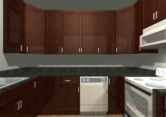 Custom Kitchen Cabinetry 3D Rendering Cabinets Design & Ideas traditional-kitchen-cabinetry
