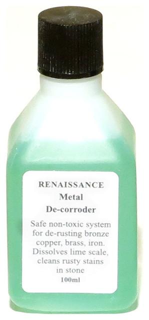 Renaissance Metal De-Corroder Rust Removal - 100ml traditional-housekeeping