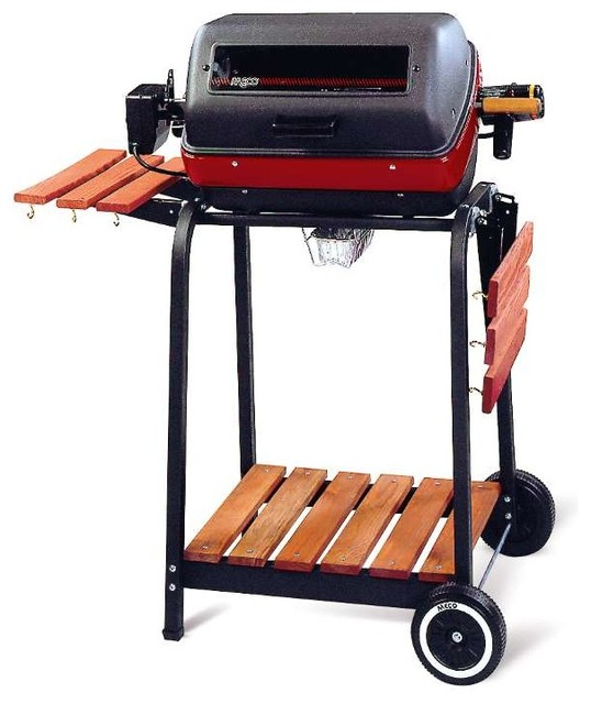 Deluxe Electric Grill Cart modern-outdoor-grills