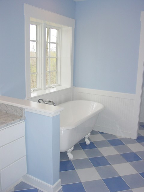 LEED Home traditional-bathroom