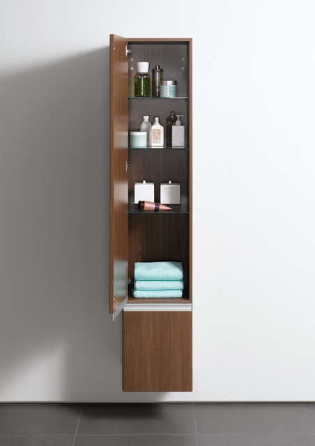 Vitra Espace Tall Bathroom Storage Unit Contemporary London By Uk Bathrooms