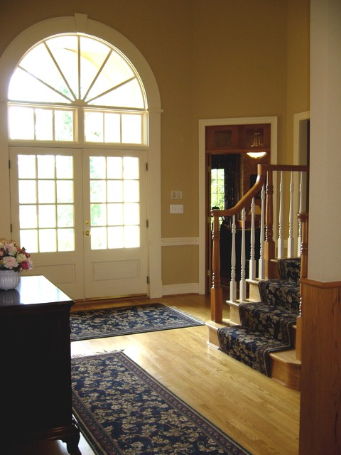 Foyer With Area Rug : Foyer area rugs and stair runner traditional dc
