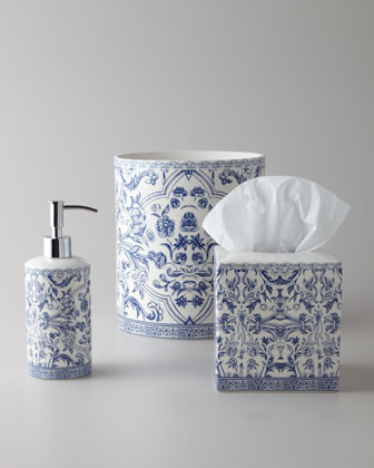 Kassatex Orsay Tissue Box Cover traditional-tissue-box-holders