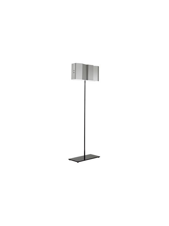 FOLD FLOOR LAMP BY PALLUCCO LIGHTING - The Fold Floor from Pallucco is part of the collection of lights with lamp shades that create optical effects.