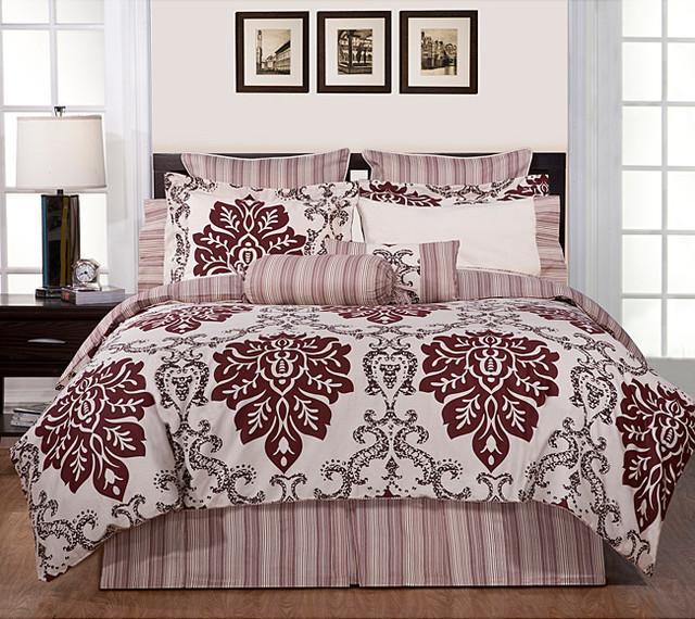 Country Ridge piece Fullsize Bed in a Bag with Sheet Set