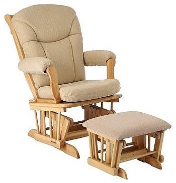 glider rocker ottoman natural traditional rocking chairs and gliders