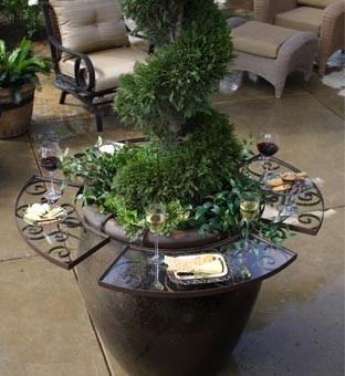 Outdoor Entertaining table - traditional - outdoor decor - other ...