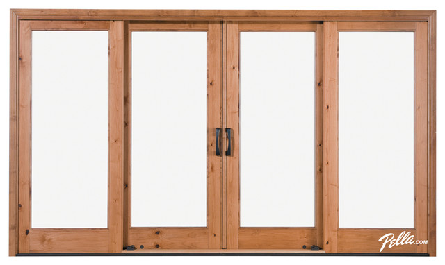 Pella® Architect Series® 4-Panel Sliding Patio Door - Contemporary - Patio Doors - other metro ...
