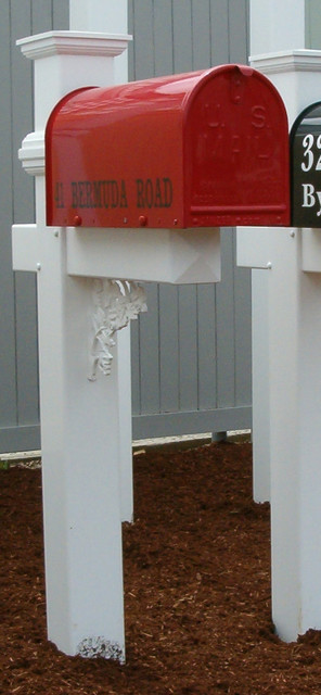 Premier Fence- Mailbox Posts mailboxes