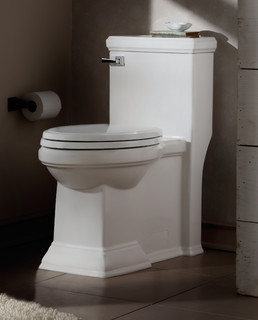 Town Square FloWise Right Height Elongated 1-Piece Toilet